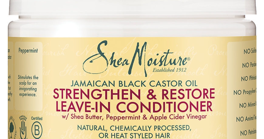 Shea Moisture Jamaican Black Castor Oil Leave in Conditioner 11oz