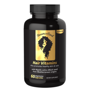 Bounce Curl Hair vitamins with Black Seed Oil