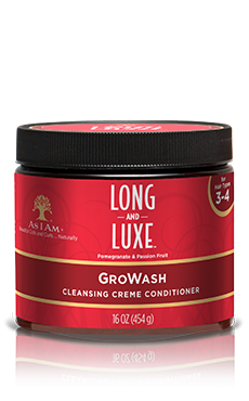 AS I AM LONG N LUXE GRO WASH 16OZ