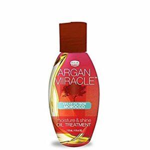 AFRICAN PRIDE ARGAN MIRACLE MOISTURE & SHINE OIL TREATMENT 118 ml