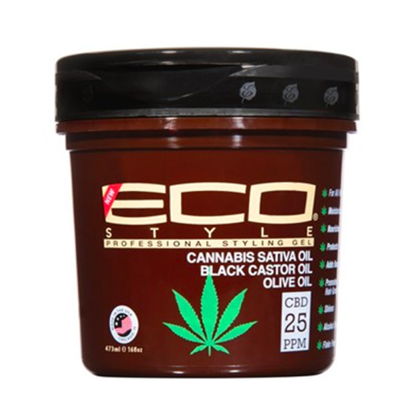 Eco Styler Cannabis Sativa Oil Styling Gel 8 oz