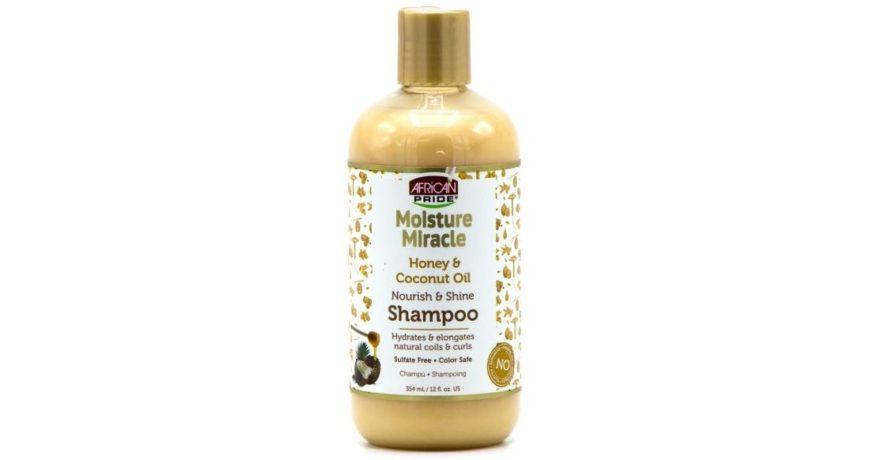 African Pride Moisture Miracle Honey & Coconut Oil Nourish & Shine Shampoo 354ml