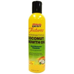 Africa's Best Textures Anti-Breakage Formula Coconut Growth Oil (8 oz.)