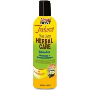 Africa's Best Textures Herbal Care Sulfate Free Conditioning Shampoo 355ml