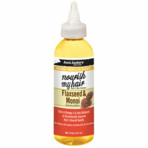 Aunt Jackies Natural Growth Oil Blends Nourish My Hair Flaxseed & Monoi 118ml