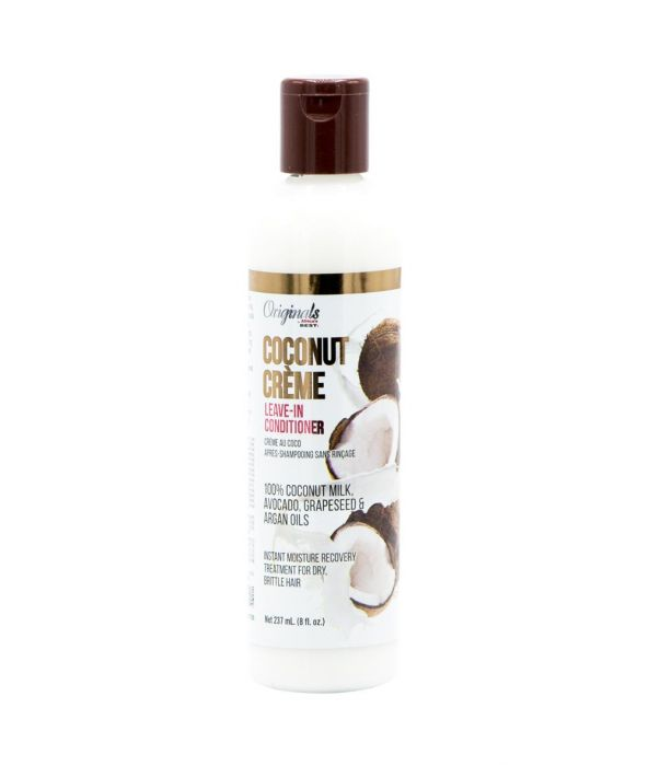 Africa's Best Coconut Creme Leave-in Conditioner 8 oz  In Stock