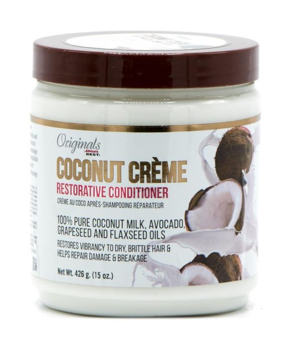 Africa's Best Originals Coconut Creme Restorative Conditioner 426gr