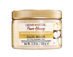 Creme of Nature Pure Honey Moisture Replenish & Strength Mask 11,5oz / 326g