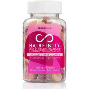 HAIRFINITY CANDILOCKS CHEWABLE HAIR VITAMINS