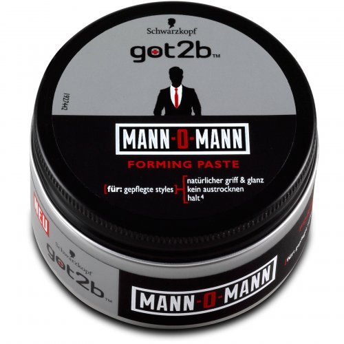 Got2b Mann-O-Mann Forming Paste 100ml