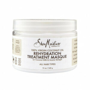 SHEA MOISTURE 100% VIRGIN COCONUT OIL REHYDRATION TREATMENT MASQUE 340 GR