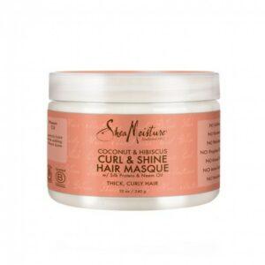Shea Moisture Coconut & Hibiscus Curl & Shine Hair Masque 340 gr
