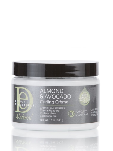 DESIGN ESSENTIALS ALMOND & AVOCADO CURLING CREME 12OZ