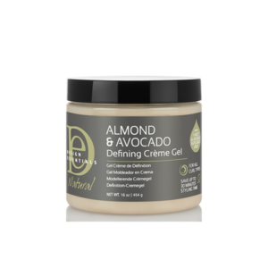 DESIGN ESSENTIALS ALMOND & AVOCADO CURL DEFINING CREME GEL 16OZ