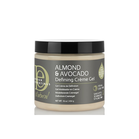Design Essentials Almond Avocado Curl Defining Creme Gel 16oz
