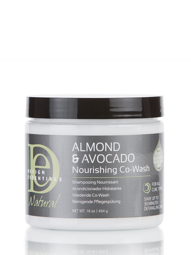 DESIGN ESSENTIALS ALMOND & AVOCADO NOURISHING CO-WASH 16OZ