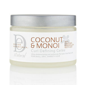 DESIGN ESSENTIALS COCONUT & MONOI CURL DEFINING GELEE 12OZ