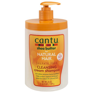 Cantu Shea Butter Natural Hair Sulfate Free Cleansing Shampoo 709 Gr