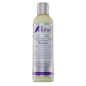 MANE CHOICE HEAVENLY HALO HERBAL HAIR TONIC & SOY MILK DEEP HYDRATION SHAMPOO 8 OZ