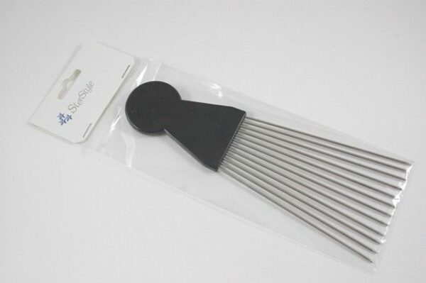 SterStyle Hair Comb Afro Long Metal