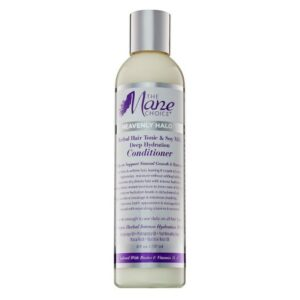 MANE CHOICE HEAVENLY HALO HERBAL HAIR TONIC & SOY MILK DEEP HYDRATION CONDITIONER 8 OZ