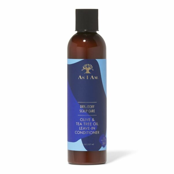 AS I AM Olive & Tea Tree Oil Leave-In Conditioner 237 ML 8 oz
