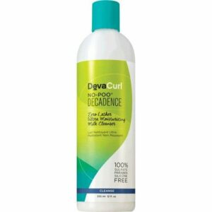 Devacurl No-Poo Decadence Zero Lather Ultra Moisturizing Milk Cleanser 355 Ml