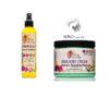 Alikay Naturals Avocado Cream Moisture Repairing Hair Mask &  Lemongrass Leave In Conditioner.