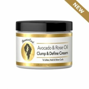 BOUNCE CURL AVOCADO & ROSE OIL CLUMP AND DEFINE CREAM 6 FL OZ / 117 ML