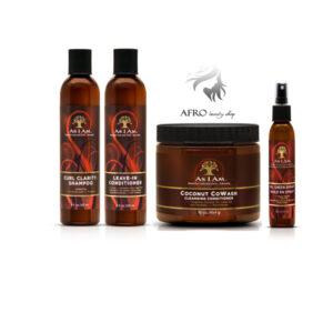 As I Am Naturally Coconut Co-Wash+shampoo+leave in cond+hairspray set