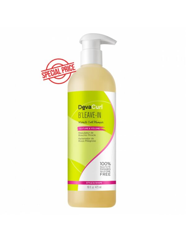 Devacurl B'Leave-In Miracle Curl Plumper Family Size 473ml 16 oz