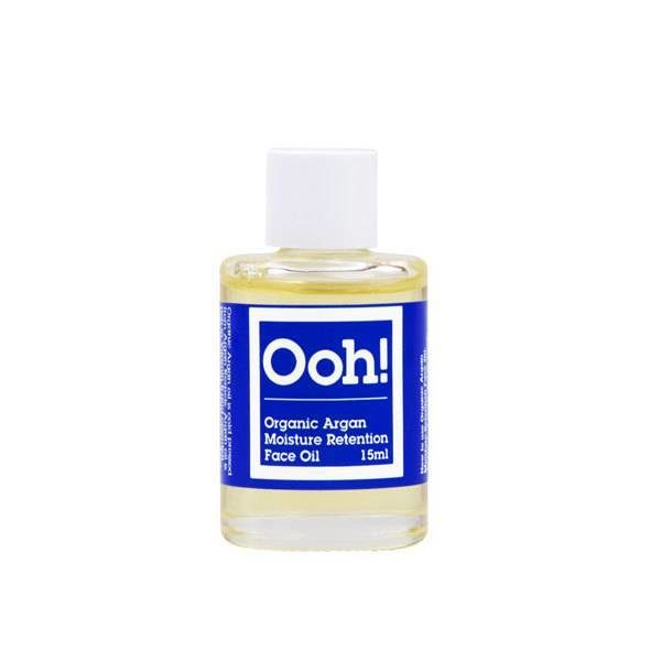 Organic Argan Moisture Retention Face Oil 15ml