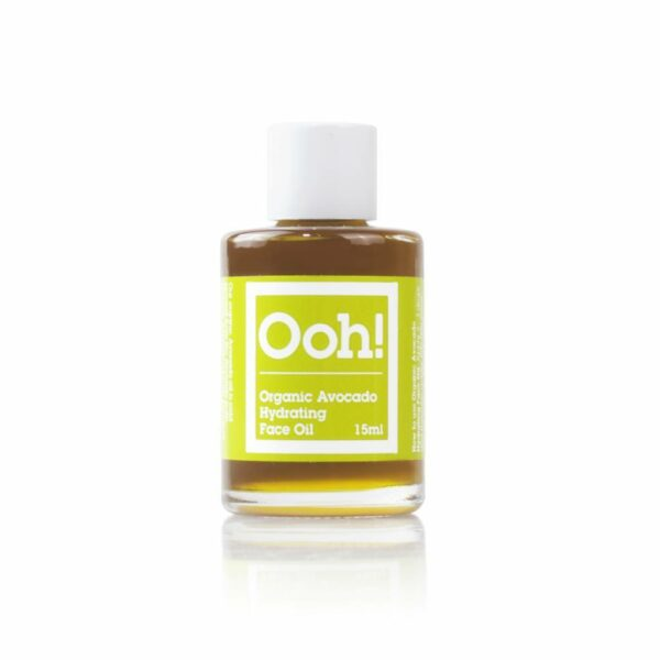 Natural Organic Avocado Hydrating Face Oil 15ml
