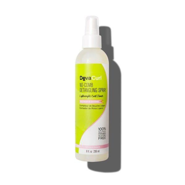 Devacurl No Comb Detangling Spray Light Weight Curl Tamer 8oz/236ml