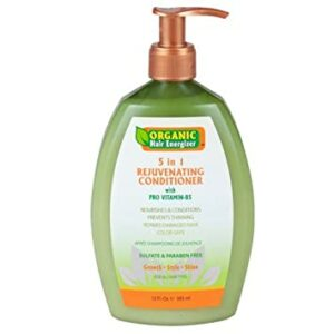 Organic Hair Energizer 5 in 1 Rejuvenating Shampoo