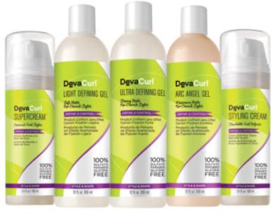 Devacurl producten voor krullend haar